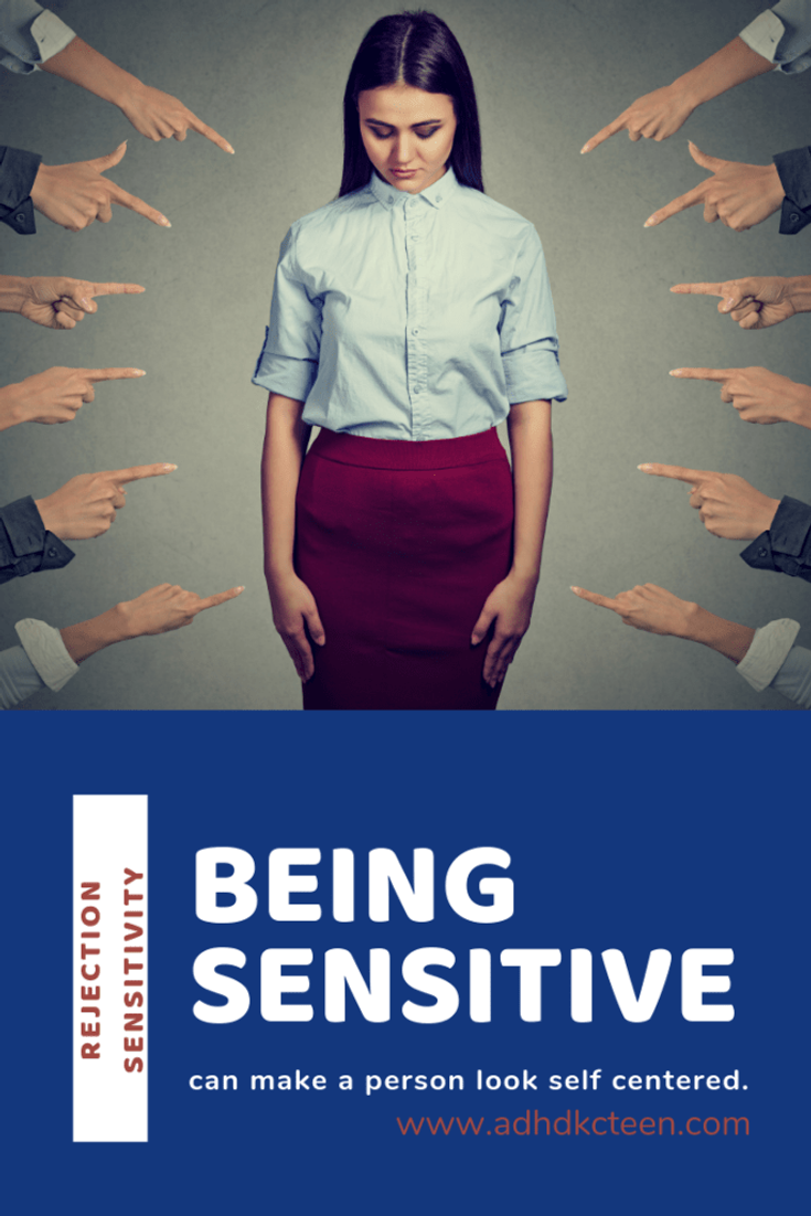 Many traits of ADHD can make a person seem self absorbed. If you're overly sensitive, you can turn people away. Learn more @adhdkcteen