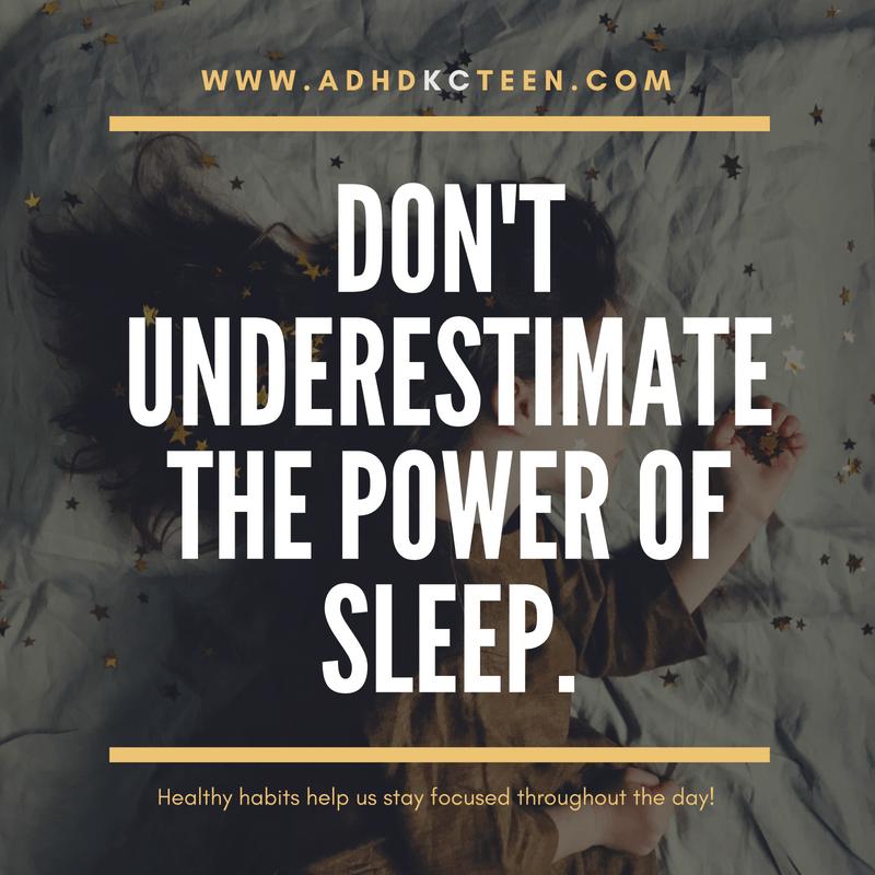 Don't underestimate the power of sleep