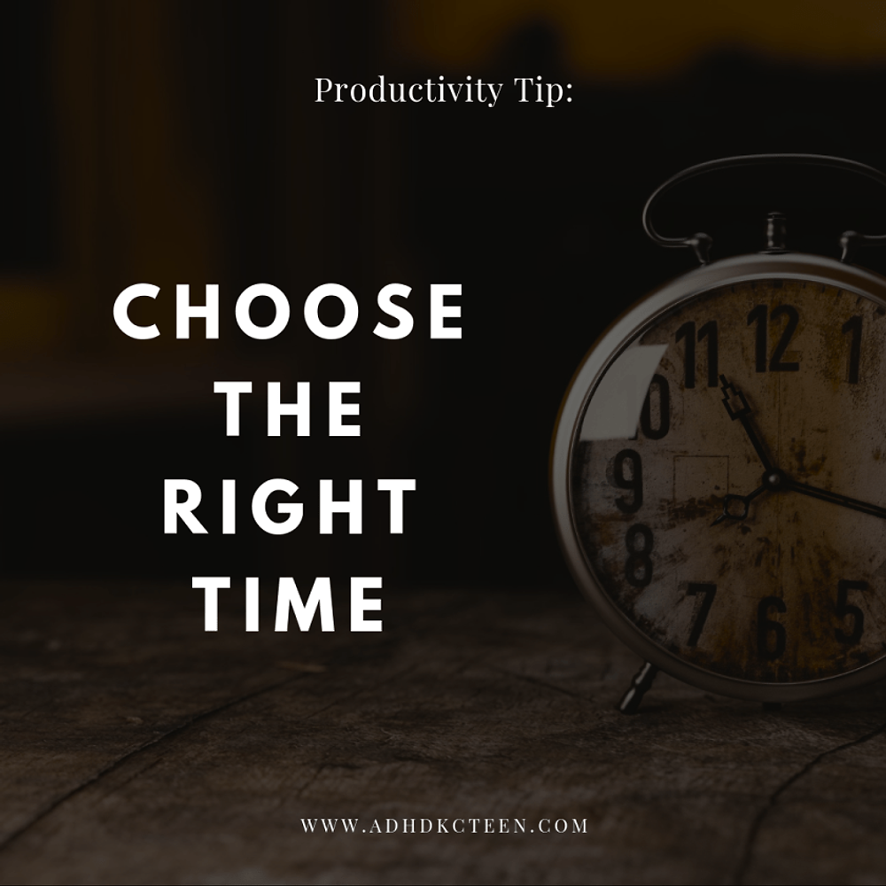 What can you do to be the most productive? Our top 10 secrets of productivity are found here! Make the most out of your time with these tips, such as choosing the right time.