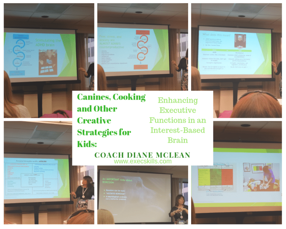 Coach Diane from Odyssey Learning spoke about various ways to help kids and teens learn executive functioning.