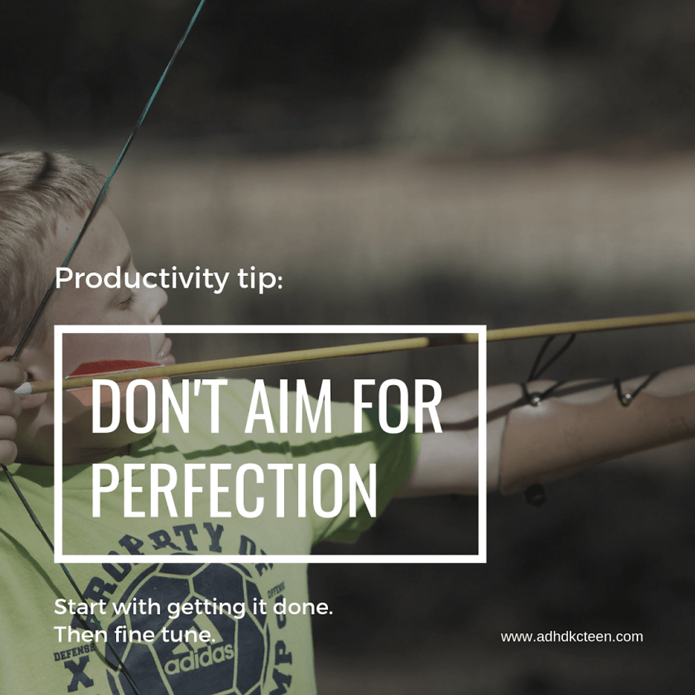 Our top 10 secrets of productivity are found here! Make the most out of your time with these tips, such as not aiming for perfection.