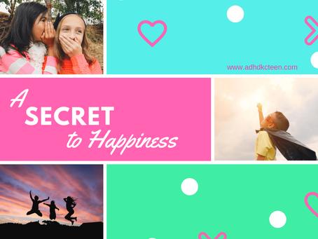 A secret to happiness: Life is a marathon, not a sprint