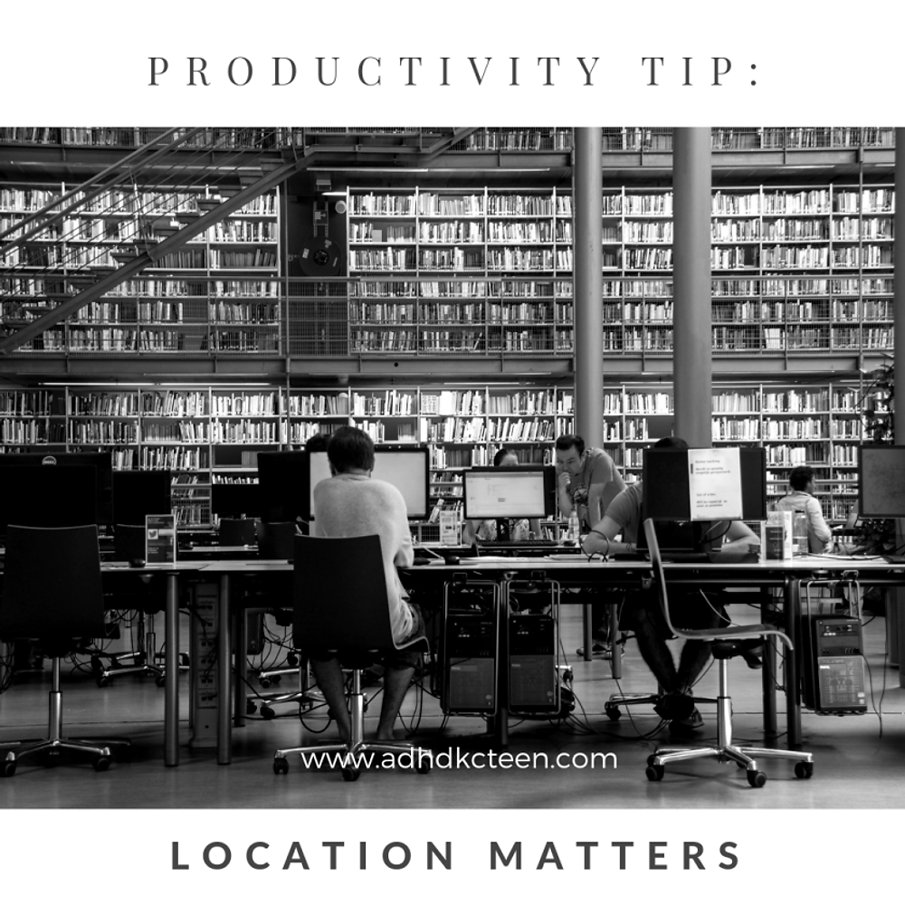 What can you do to be the most productive? Our top 10 secrets of productivity are found here! Make the most out of your time with these tips, such as choosing the right location.