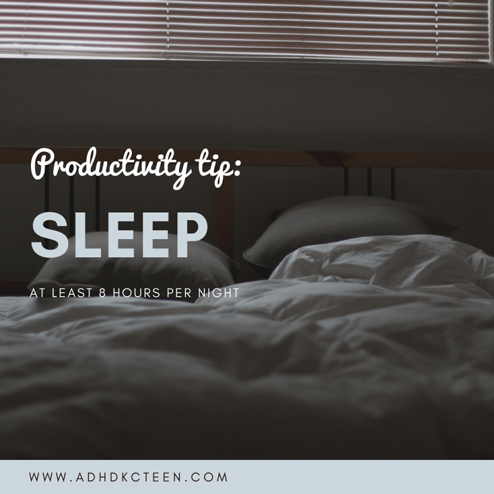 What can you do to be the most productive? Our top 10 secrets of productivity are found here! Make the most out of your time with these tips, such as getting sleep.