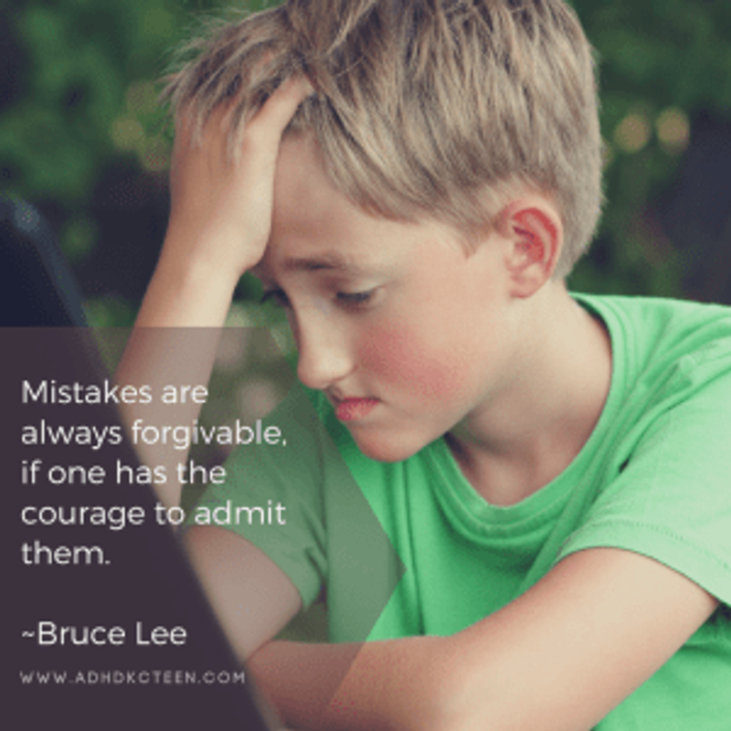 Mistakes are always forgivable, if you have the courage to admit them. Bruce Lee