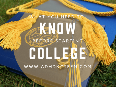 What You Need To Know Before Starting College