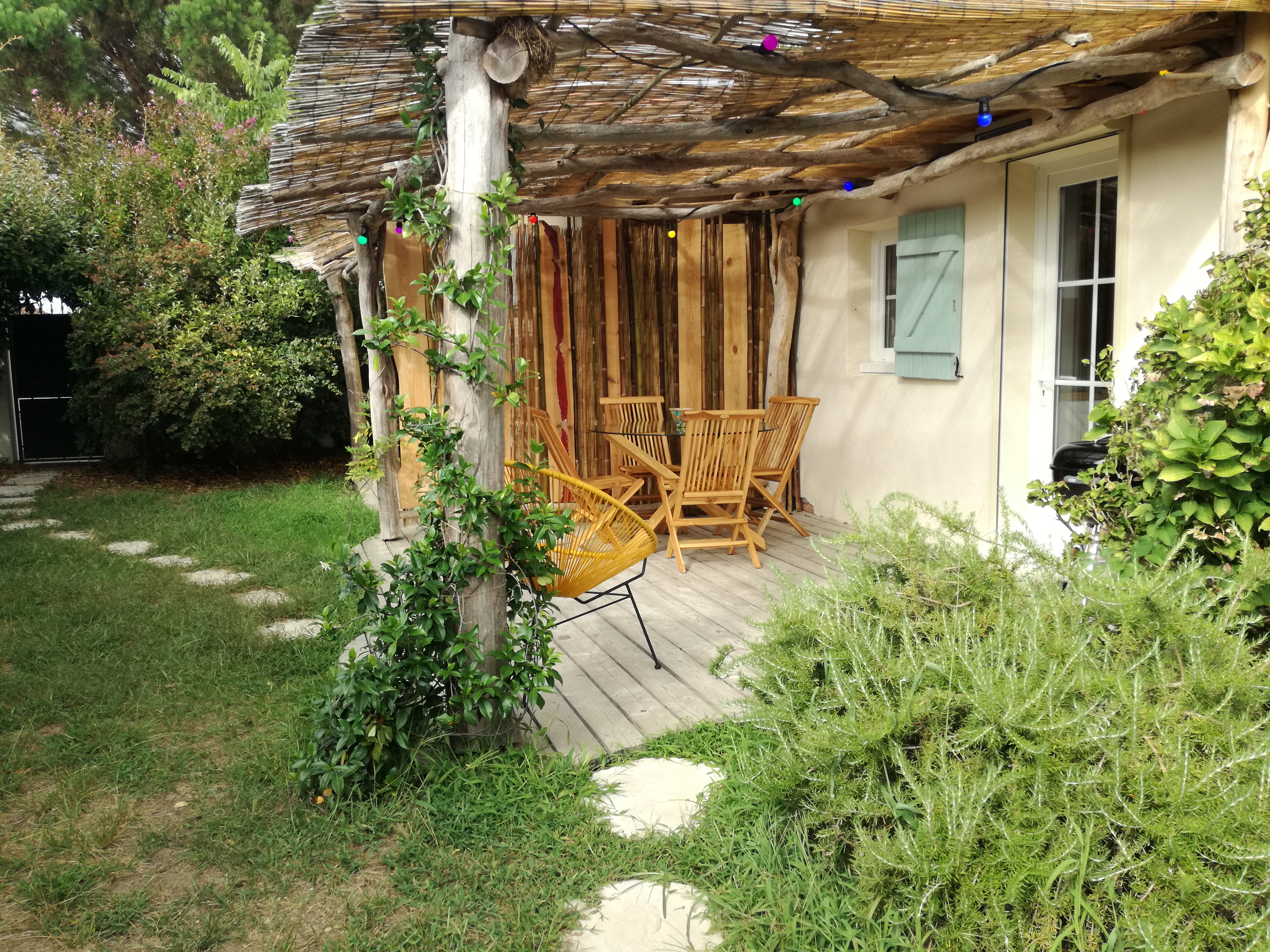 La Terrasse Privative du Chill-Out