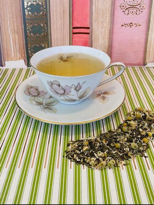 Cozy Chamomile and Mint Tea
