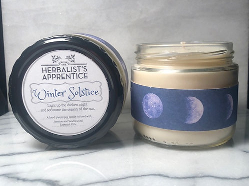 Winter Solstice Candle