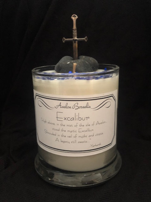 Excalibur Candle by Avalon Borealis