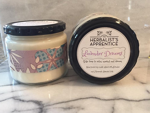 Lavender Dreams soy candle