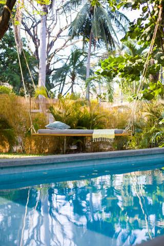 private salt-water pool