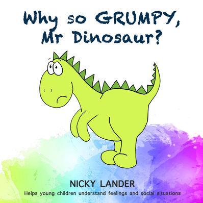 Why so grumpy, Mr Dinosaur?
