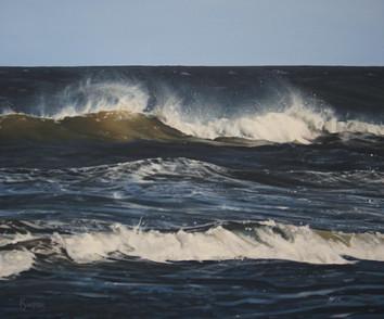 Big Blue Crashing Waves
