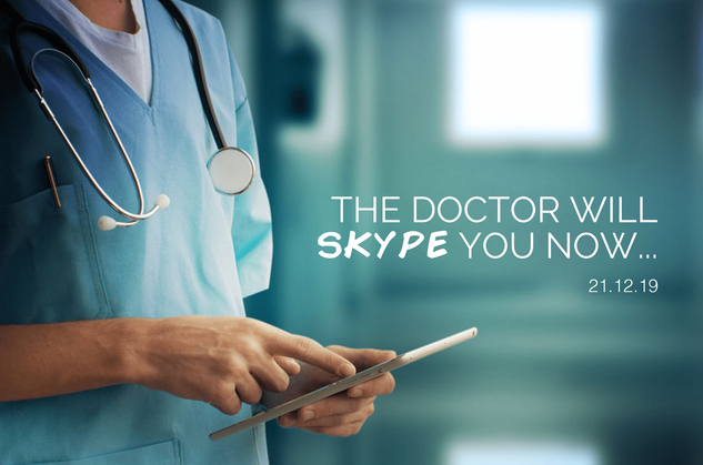 The Doctor Will Skype You Now