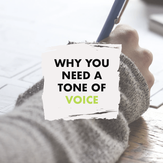 Why You Need a Tone of Voice