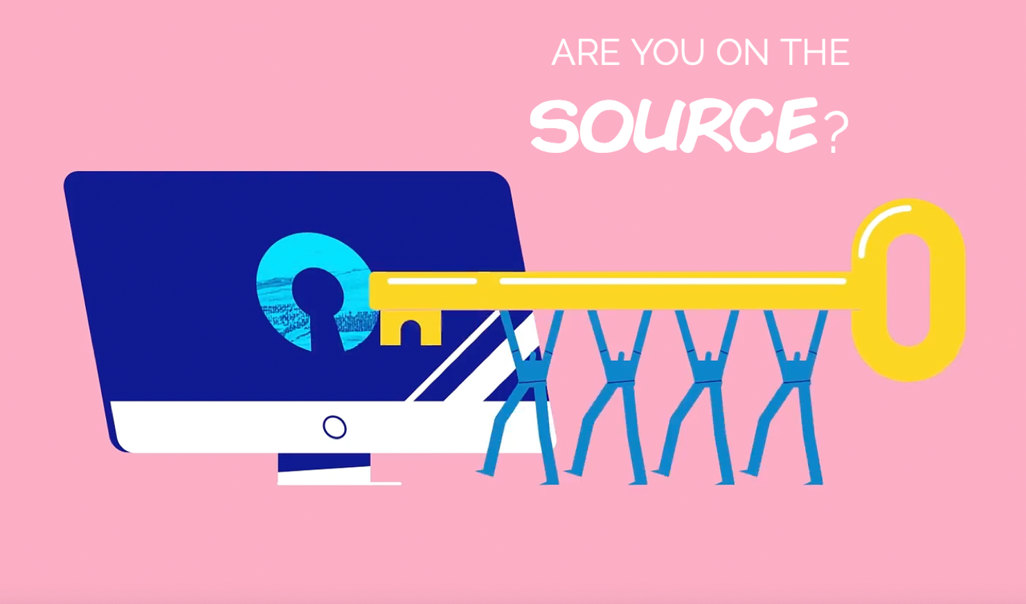 Are you on the source?
