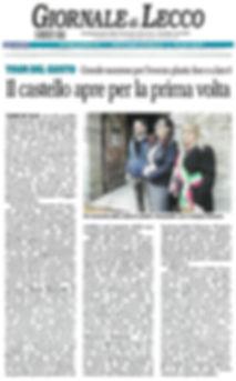 Giornale di Lecco 11/11/2019