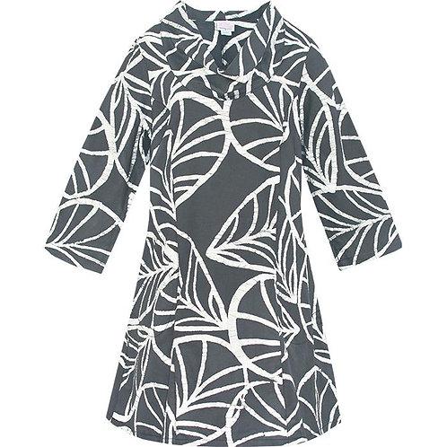 Charcoal Canopy Dress