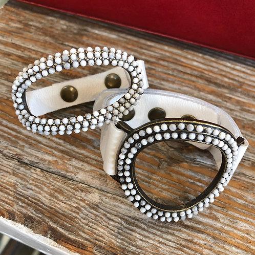 Open Circle Beaded Bracelets