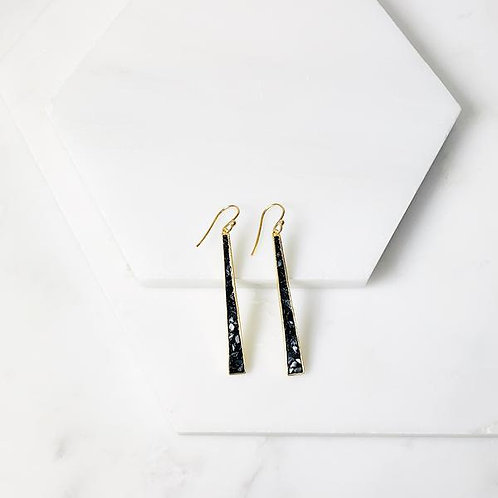 Black Diamond Deco Earrings