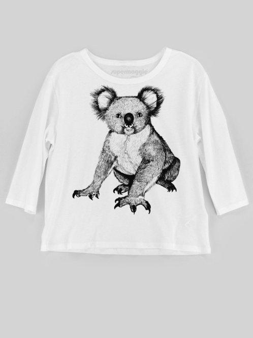 Long Sleeve Koala T-Shirt
