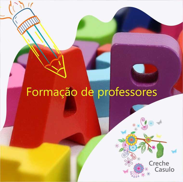 Formação de professores do projeto de educação infantil da Creche Casulo.