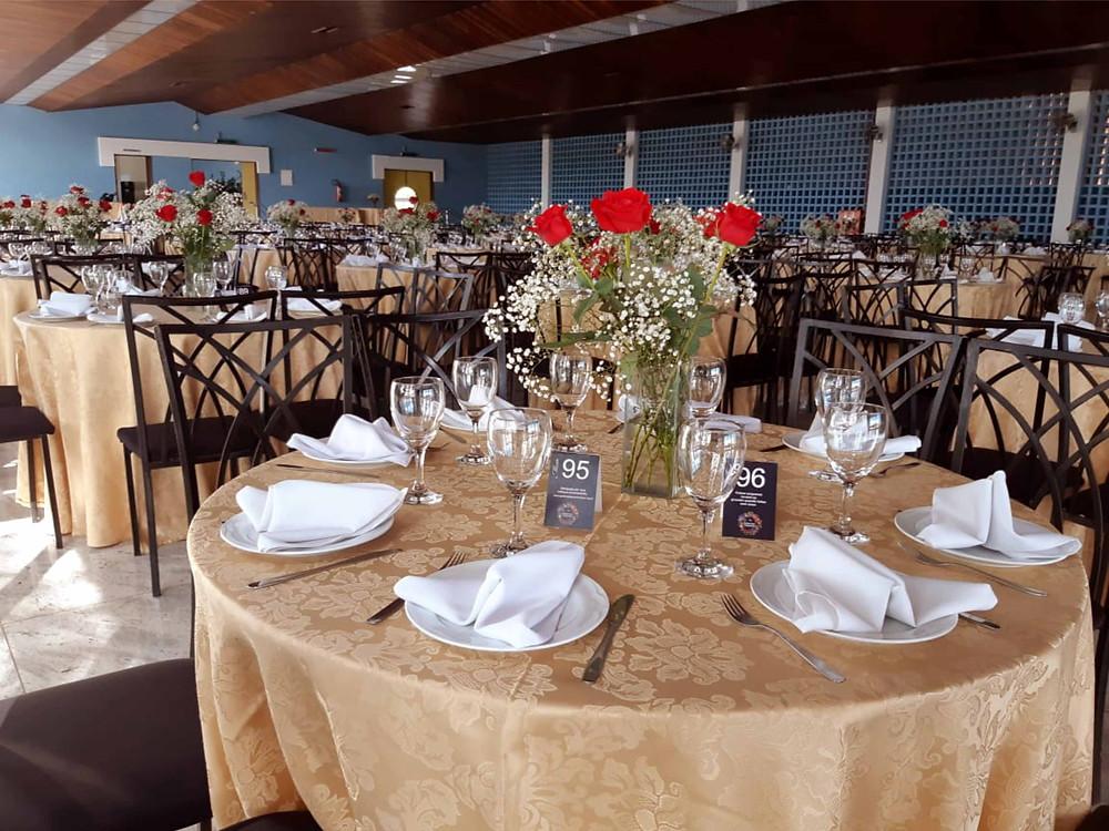 Jantar Dançante  do Jardim das Borboletas, no Salão Nobre da Sede Campestre do Cruzeiro.