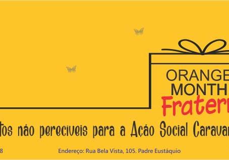 """ASCL dá início a mais uma campanha de Natal, """"Orange Month Fraterno do Jardim das Borboletas"""""""