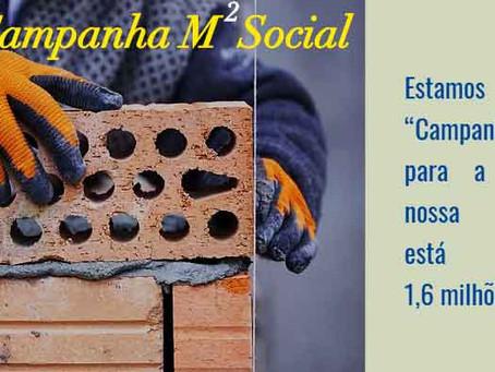 A Ação Social Caravana de Luz promove campanha para construção de nova sede no Morro das Pedras