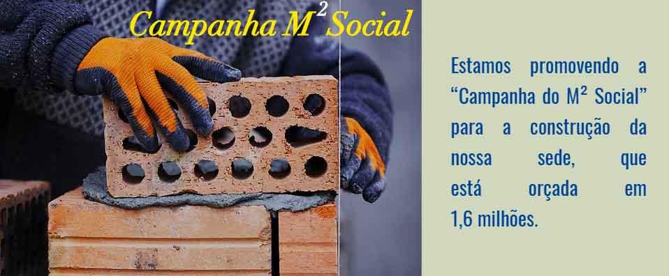 Campanha M² Social da ASCL.