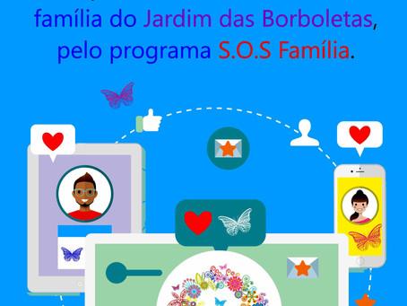 """Iniciamos a campanha """"Seja Mãe de um dos Projetos do Jardim das Borboletas"""""""