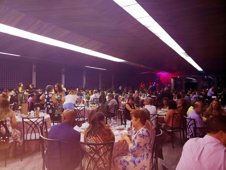 Jantar Dançante do Jardim das Borboletas reuniu mais de 300 pessoas