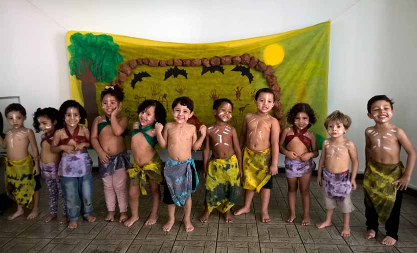 Maternal 3: Danças Tribais