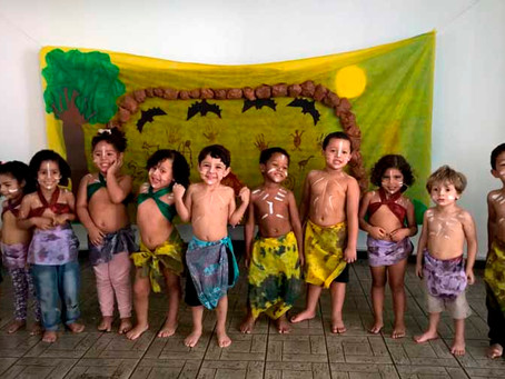 Arte por toda parte: projeto da Creche Casulo realiza Feira Cultural