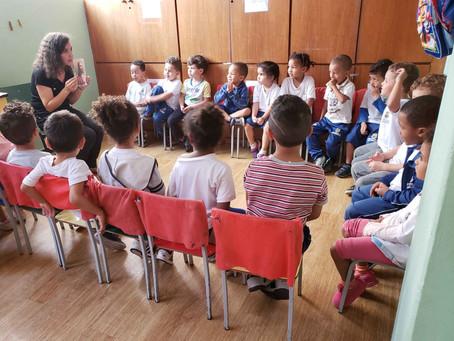 Resgatando valores humanos por meio do projeto Jardim de Valores da Creche Casulo