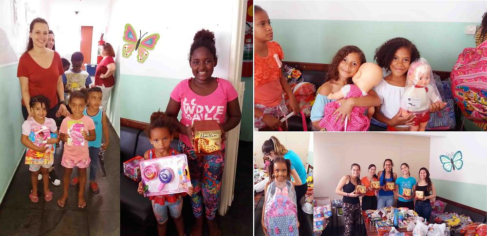 ASCL – Jardim das Borboletas levou alegria a crianças carentes de Belo Horizonte.