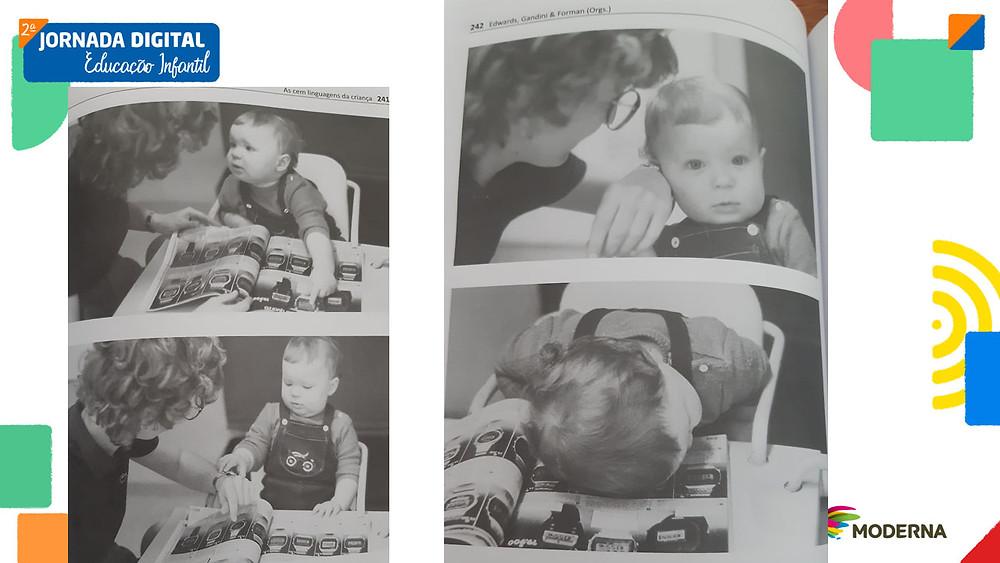 """Imagem retirada do livro """"As Cem Linguagens da Criança"""", Volume 2. Cap. 2: Escuta do educador, de Carla Rinaldi."""