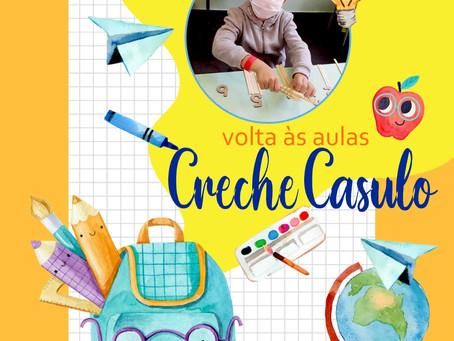 Volta às aulas do projeto Creche Casulo