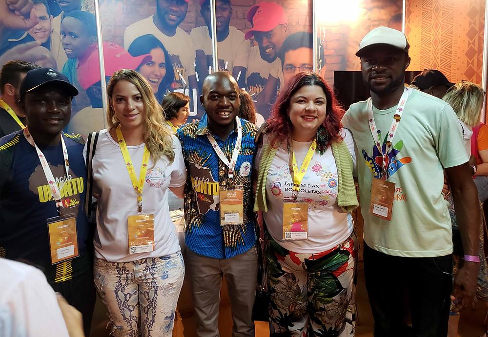 Líderes do Ubuntu e representantes da ASCL - Jardim das Borboletas.