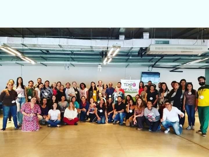 Participantes do 4ª edição do Curso de Formação Tempo da Infância - Encontros para Pensar a Criança.