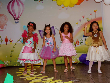 A magia de Oz no Natal de Belo Horizonte: festa de despedida do Projeto Creche Casulo 2018