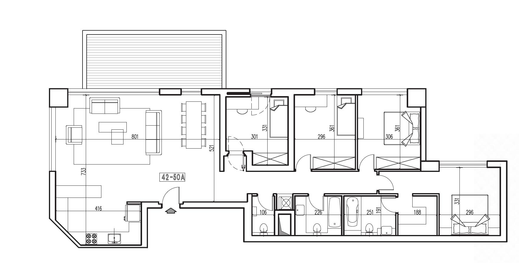 מפרו 5 חדרים