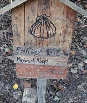 Ponferrada – Villafranca del Bierzo 26.6 km. 605 mtr.