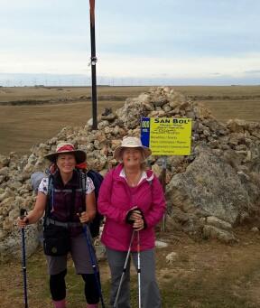 Day 18 Hornillos – Castrojeriz 900 mtr. 20 km.
