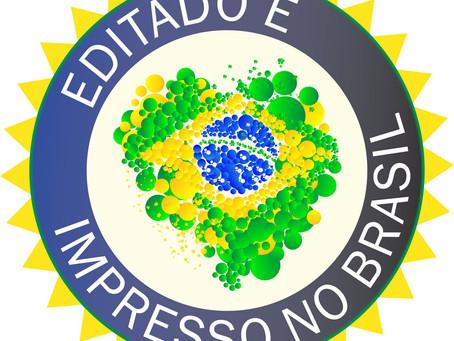 Conheça o Selo da Editora InVerso: Editado e Impresso No Brasil