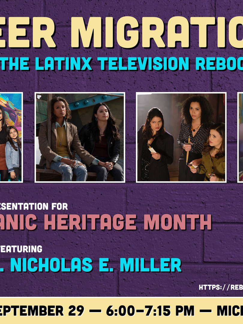 Hispanic Heritage Month — Event Poster