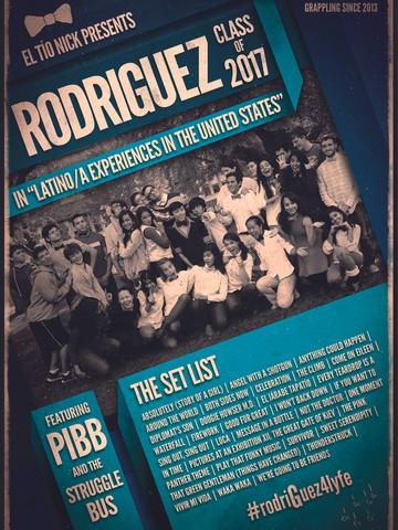 Rodriguez Scholars — Memory Poster