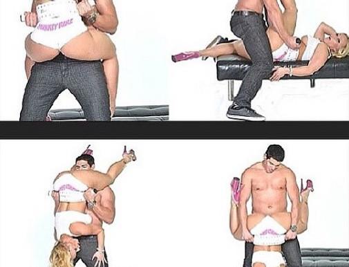 MunkeyBarz Sex Belt- Pink