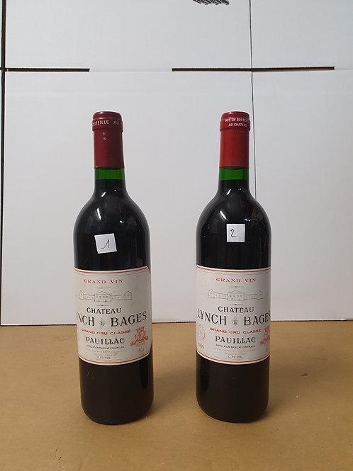 LYNCH BAGES 1989 @ € 265/bt